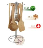 Japanese top Wooden Cooking Tool Sets collection ( wooden spatula, wooden soup spoon, wooden ladle, etc.)