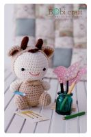 Water Buffallo (Christmas gifts handmade amigurumi plush toys, knitted crochet toys)
