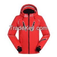2015 new design waterproof &breathable sportwear snowboarding ski jacket