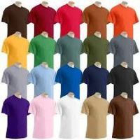 High Quality plain 100% Cotton T-Shirts