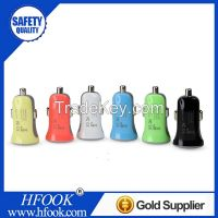 2014 Hottest Sale 5V2.1A USB Car Charger High Quality