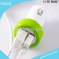 Car charger usb usb meet CE,ROHS FCC Wholesale OEM orders accepted 5V 3.1A car charger usb