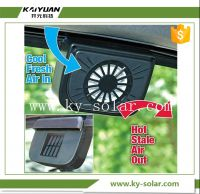 New hot selling auto cool solar power car fan car auto solar car fan