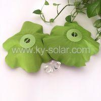 Wholesale portable LED lotus shape solar floating pool light