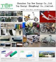2014 TNE High Power Lifepo4 48V10AH ebike battery pack