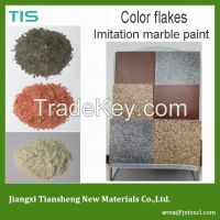 color flakes for exterior wall paint
