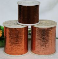 M type polyester metallic yarn  for knitting weaving