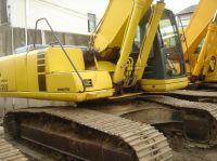 used excavator PC200-6, second hand komatsu excavator