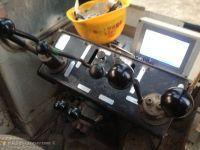 Used HITATCHI Crawler Crane KH700, 150ton crane