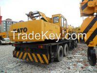 used Kato 50ton truck crane, second hand mobile crane