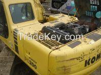 used excavator PC200-6, KOMATSU excavators