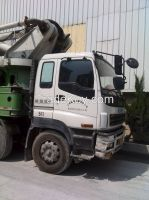 used contrete pump ISUZU
