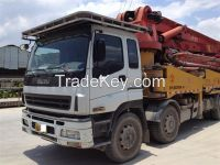 used concrete pump ISUZU