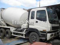 used concrete mixer ISUZU