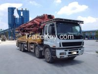 used pump truck ISUZU