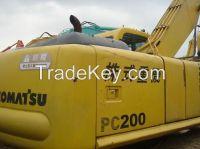 used excavator KOMATSU 200-6