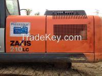 used excavator Hitachi ZX210LC