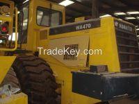 used loader KOMATSU WA470-3