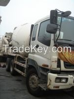 hot sales used mixer ISUZU