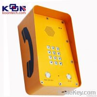 GSM Auto Dial Emergency Phone With Sus Keypad For Public Place