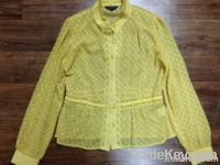 Used ladies silk blouse