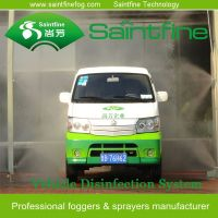 Air Atomizing Type modular disinfection system for vehicles