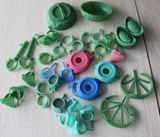Various investment powder,jewelry wax,and other accessories used for jewelley casting industry