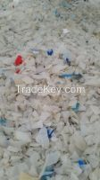 HDPE Bottles Grinding Washed (Natural and Mixed separate)
