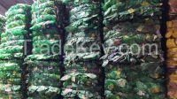 PET Bottles in bales scrap