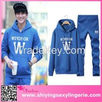 wholesale fashion cheap men's Sportswear hoodies and pant