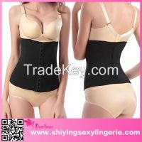 sexy women waist slimming shaping steel boned corset