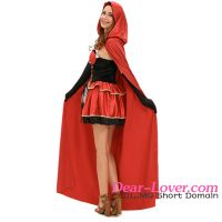 wholesale red adult sexy fancy dress costume for advertising