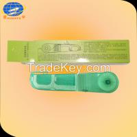 Dental floss & holder