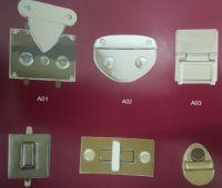 Metal bag lock