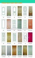 veneer hdf door skin and melamine hdf door skin