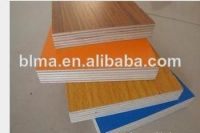 12mm melamine faced soft plywood from China