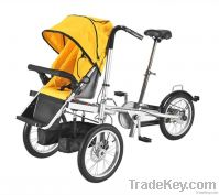 Mother and baby stroller