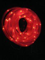 100LED Solar Power LED Rope Light, Red