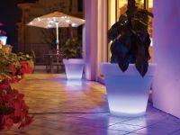 Solar Powered LED Flowerpot Light, LED Pot light. LED Garden Light, Solar Pot Light