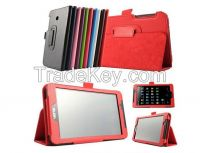 Fashion Solid Color Flip PU Leather Case For Asus FE170CG FE7010CG