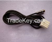 Female 3.5MM Gold Plate Aux Cable Audio Cable Adapter For Mazda 3 /6