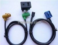 USB+AUX Switch Plug & Cable For VW Passat