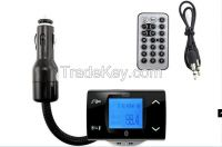 Bluetooth Car Kit speakerphone can card MP3 with steering wheel remote