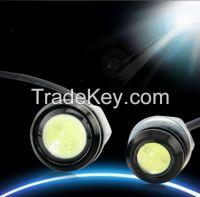 3W LED Eagle Eye White Light Daytime Running DRL Tail Backup Light