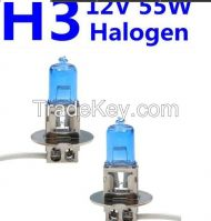 H3 12V 55W Halogen Headlight Replacement Bulb Lamp For Auto Car Truck