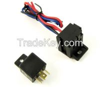 Racing Car 12V Ignition Switch Panel Engine Start Push Button LED