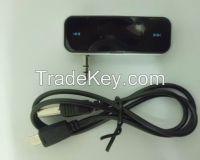 Wireless 3.5mm In-Car Handsfree Car Kit Music Radio MP3 FM Transmitter