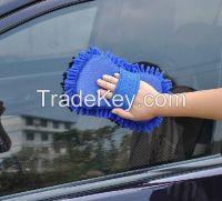 utility Chenille clean sponge cloth, Car cleaning mitt