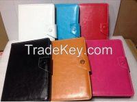 PU Leather Folio Folding Flip Cover Case