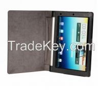Leather stand case cover For Tablet Lenovo YOGA B8000 Leather case
